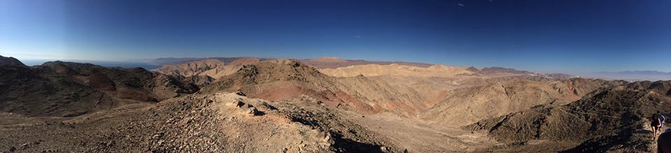 Nov 18 - Jeffrey Donenfeld - Morning Hike view of Egypt