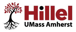 UMass Hillel Logo - transparent bg